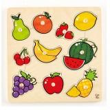 Hape Knopfpuzzle Früchte
