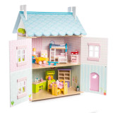 Le Toy Van Blue Bird Cottage Puppenhaus