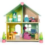 Le Toy Van Evergreen Haus (mit Möbeln)