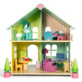 Le Toy Van Domek Evergreen (z meblami)