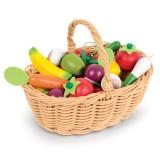 Janod Obst- und Gemüse Sortiment im Korb