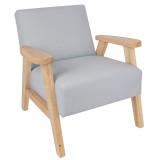 Jabadabado Sessel mit Armlehnen, Grau