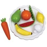Jabadabado Teller mit Früchten & Gemüse