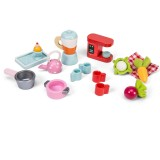 Le Toy Van Tea- Time' Doll's House Kitchen Accessory Pack
