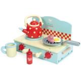 Le Toy Van Mini Plattenherd für Kleine Camper