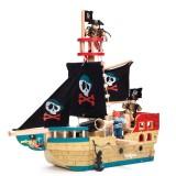 Le Toy Van Fröhliches Piratenschiff