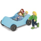 Melissa & Doug 12463 Set di macchina e bambole