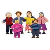 Melissa & Doug 12464 Famiglia di bambole die legno