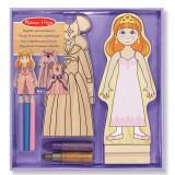Melissa & Doug 14182 Magnetische Prinzessinbekleidung