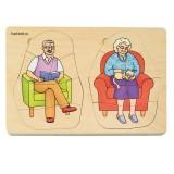 Beleduc Puzzle 5 capas - Abuela & Abuelo 17052