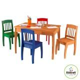 KidKraft 26175 Tisch mit 4 Stühlen