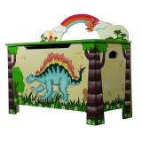 Teamson Spielzeugbox Dinosaurier