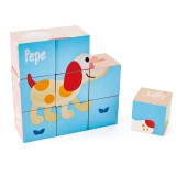 Hape Friendship Puzzle Blocks