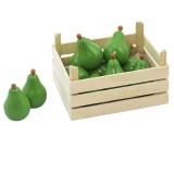 Goki pere con scatola di legno