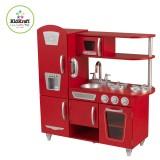 Kidkraft Cocina estilo retro color roja - 53173
