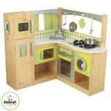 Kidkraft Cocina para esquinas, color verde limón - 53274