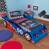KidKraft Racecar Toddler Bed 76038