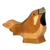 Holztiger Spielfigur Spatz