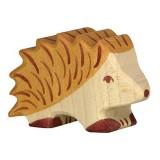 Holztiger Spielfigur Igel