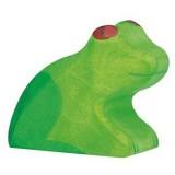 Holztiger Spielfigur Frosch