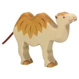 Holztiger Spielfigur Kamel