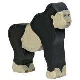 Holztiger Spielfigur Gorilla