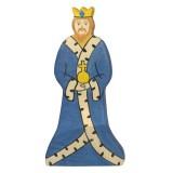 Holztiger Spielfigur König