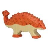 Holztiger Spielfigur Saurier Ankylosaurus