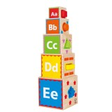 Hape Pirámide De Juegos - E0413
