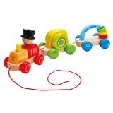 Hape Trenino Trainabile Triplo - E0431