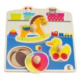 Hape Knopfpuzzle Mein Spielzeug