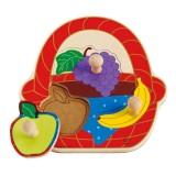 Hape Früchtekorb-Puzzle