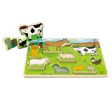 Hape Farm Animals Stand Up Puzzle - E1450