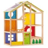 Hape Puppenhaus Vier-Jahreszeiten-Haus