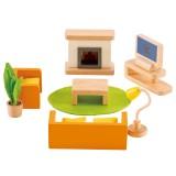 Hape Puppenhausmöbel Wohnzimmer