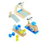 Hape Puppenhausmöbel Fitnessstudio
