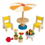 Hape Patio Set E3460