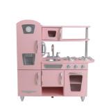 Attraktiv KidKraft Rosa Retro Küche