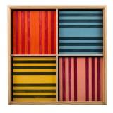 Kapla Baustein-Set 100 farbig