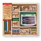 Melissa & Doug 12410 Horses stamp set