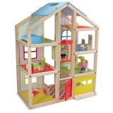 Melissa & Doug 12462 Wooden hi-rise dollhouse