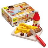 Erzi Cutting set for curry sausage - 28204
