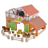 Roba 9643 Bauernhof aus Holz mit Zubehör