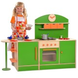 Plaho Kinderküche Bilbao mit Bar, grün